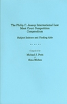 The Philip C. Jessup International Law Moot Court Competition Compendium: Subject Indexes and Finding Aids