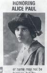 Alice Paul, 1922 Alumna